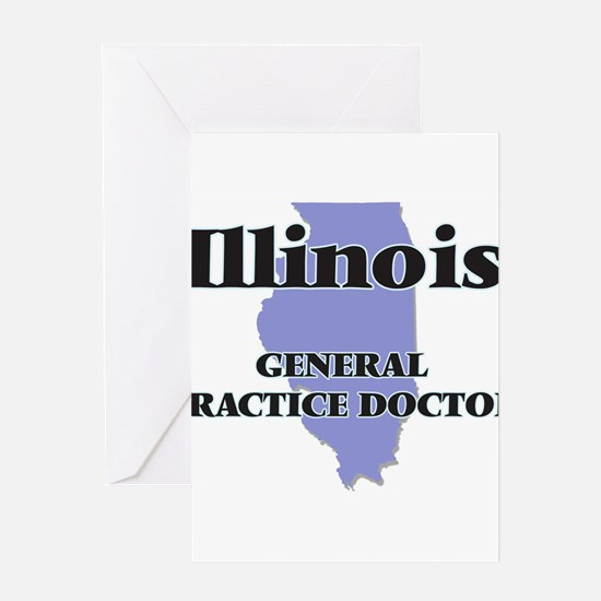 Illinois General Practice Doctor Greeting Cards