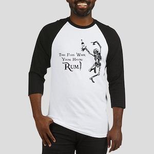Time Flies/Having Rum Baseball Jersey