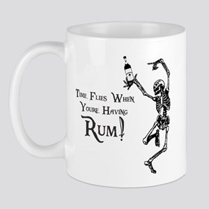 Time Flies/Having Rum Mug
