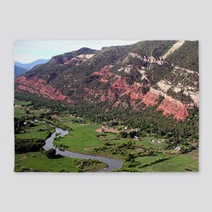 Near Durango, Colorado, from the ai 5'x7'Area Rug