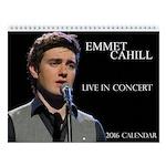 Emmet Cahill 2016 Official Wall Calendar