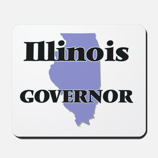 Illinois Governor Mousepad