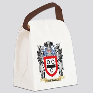 Tideswell Coat of Arms - Family C Canvas Lunch Bag