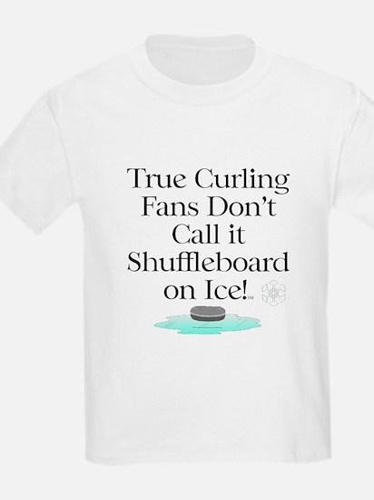 Curling Slogan T-Shirt