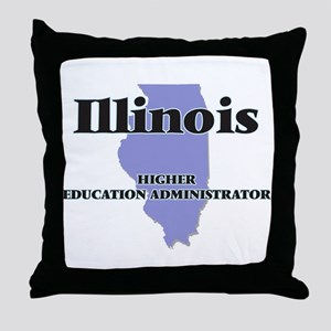 Illinois Higher Education Administrat Throw Pillow
