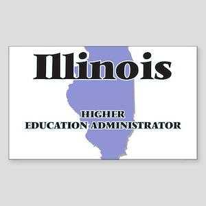 Illinois Higher Education Administrator Sticker