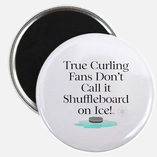Curling Slogan Magnet