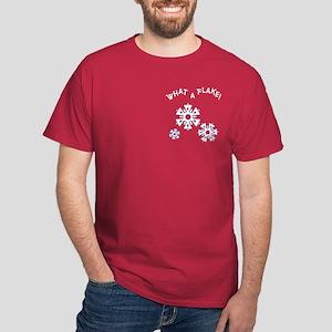 What A Flake Pocket Image Dark T-Shirt