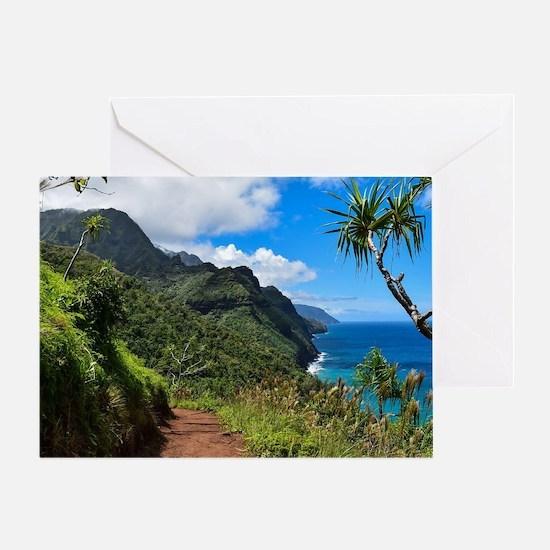 Unique Kauai Greeting Card