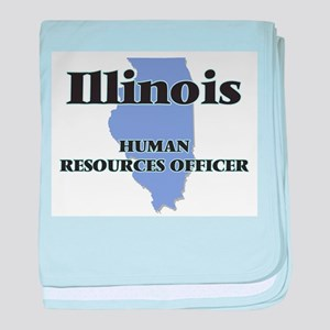 Illinois Human Resources Officer baby blanket