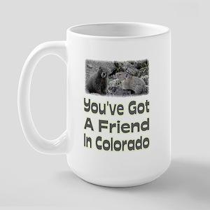 I've ( You've ) Got a friend Large Mug