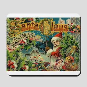 Christmas Santa Claus Antique Vintage Victorian Mo