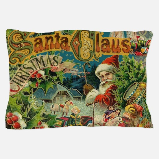 Christmas Santa Claus Antique Vintage Victorian Pi