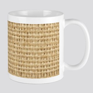 burlap and lace shabby chic Mugs