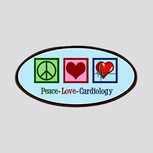 Peace Love Cardiology Patch