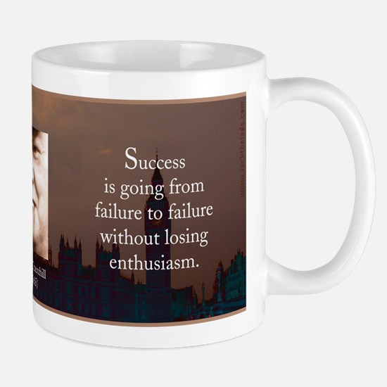 Success Mug brown