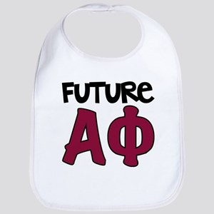 Alpha Phi Future Cotton Baby Bib