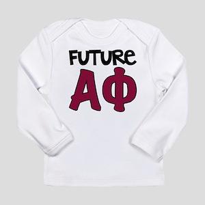 Alpha Phi Future Long Sleeve Infant T-Shirt