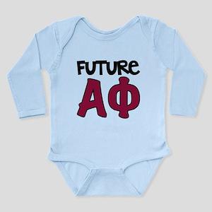 Alpha Phi Future Long Sleeve Infant Bodysuit