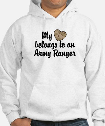 My Heart Belongs To an Army Ranger Hoodie