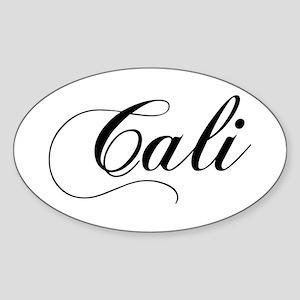 Cali Oval Sticker
