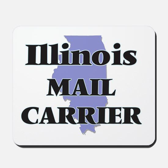 Illinois Mail Carrier Mousepad