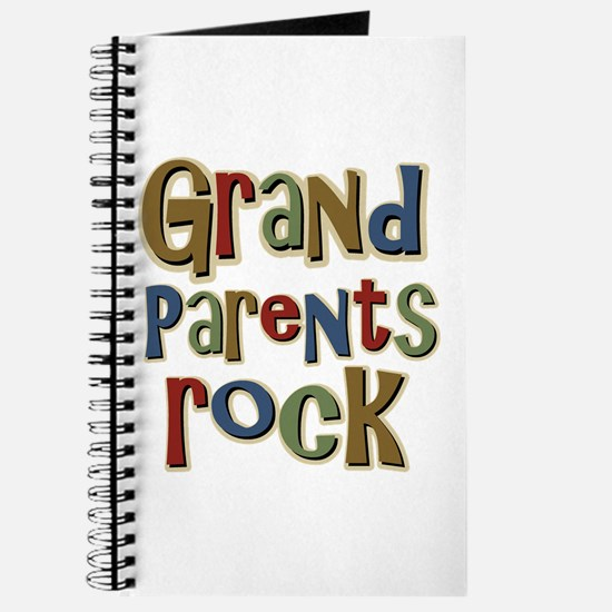 Grandparents Rock Day Holiday Journal