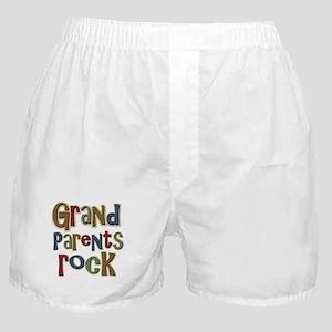 Grandparents Rock Day Holiday Boxer Shorts