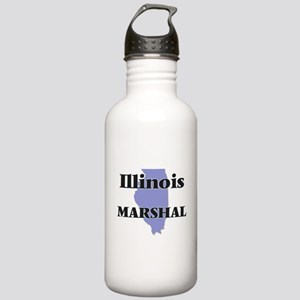 Illinois Marshal Stainless Water Bottle 1.0L