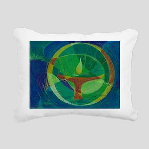 Let It Shine - UU Rectangular Canvas Pillow