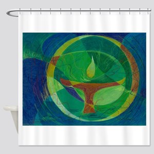 Let It Shine - UU Shower Curtain