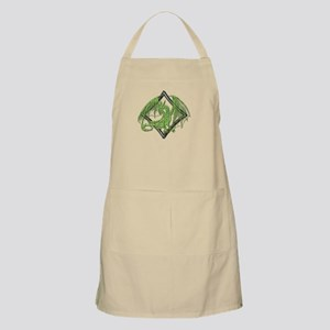 Green Dragon on Diamond Apron