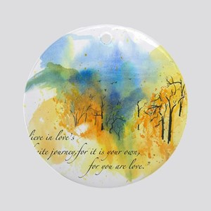Rumi Rocky Knob Round Ornament