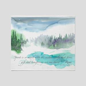Rumi Winter Throw Blanket