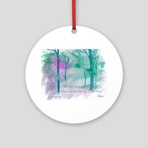 Rumi Summer Storm Round Ornament