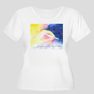 Rumi Dream Messages Plus Size T-Shirt