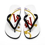 M2M Logo Flip Flops