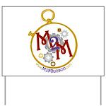 M2M Logo Yard Sign