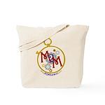 M2M Logo Tote Bag