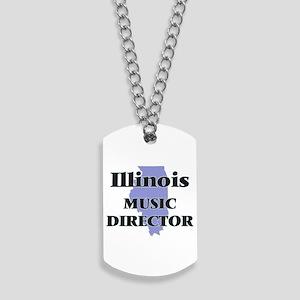 Illinois Music Director Dog Tags