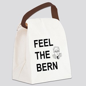 FEEL THE BERN Canvas Lunch Bag