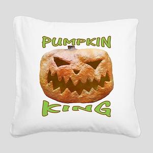 PUMPKIN KING Square Canvas Pillow