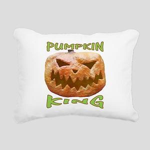 PUMPKIN KING Rectangular Canvas Pillow
