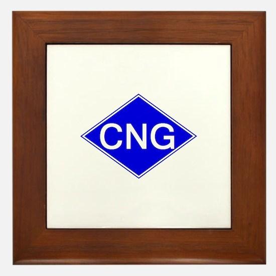 Cool Natural gas vehicle Framed Tile