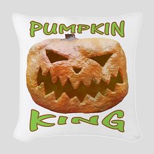 PUMPKIN KING Woven Throw Pillow