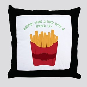 A French Fry Throw Pillow