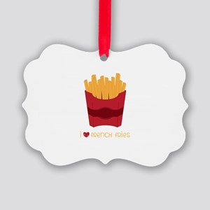 Love French Fries Ornament