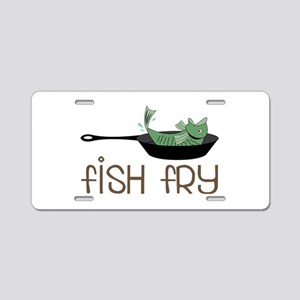 Fish Fry Aluminum License Plate