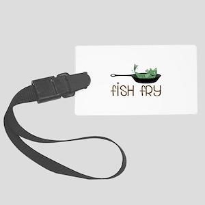 Fish Fry Luggage Tag