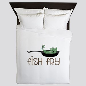 Fish Fry Queen Duvet